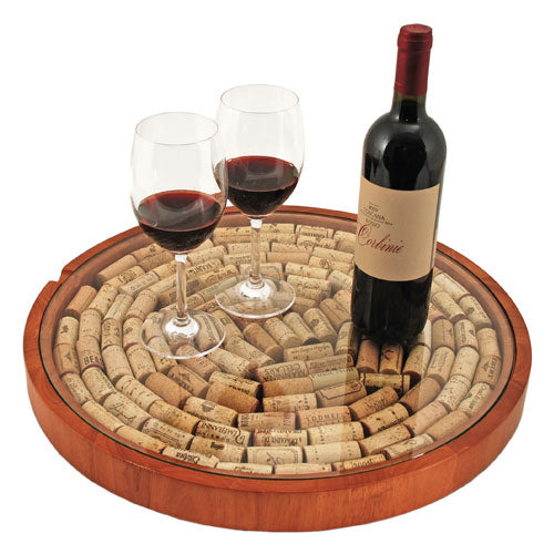 Lazy Susan: Cork Display