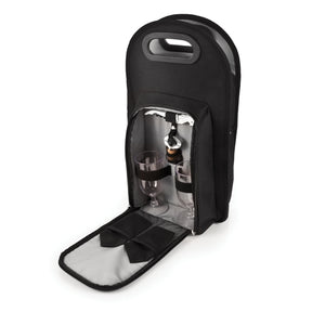 Onyx 2-Bottle Wine Tote - Rosemary & Wines