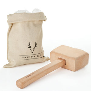 Professional Lewis Ice Bag and Mallet - Rosemary and Wines