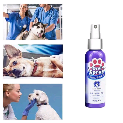 Pet Breath Freshener (2 Bottles)