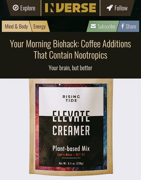Inverse.com ranks Elevate Creamer #1