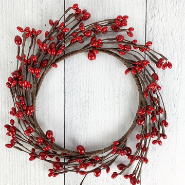 Red Bean Berry Wreath
