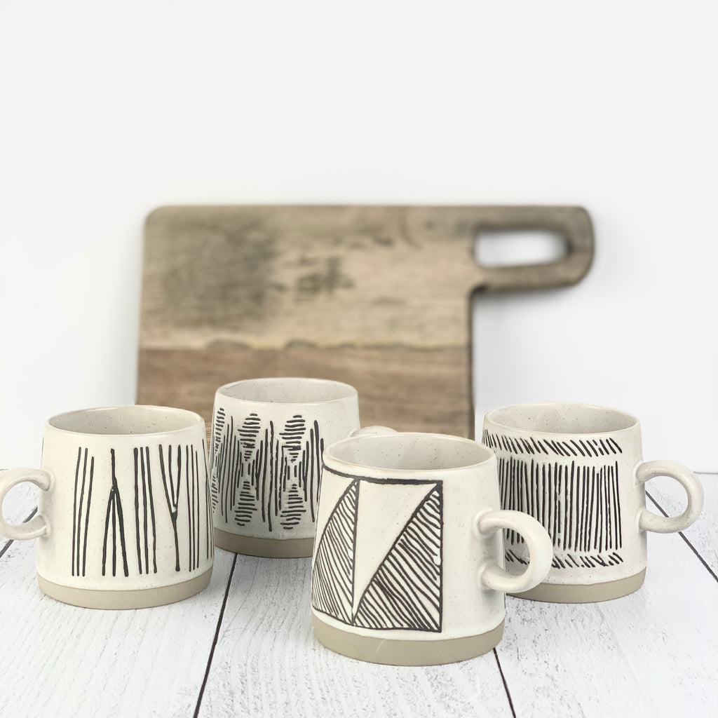 Global Inspired Coffee Mugs Gift Box