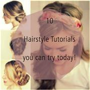 10 Easy Hair Tutorials to try out for yourself!
