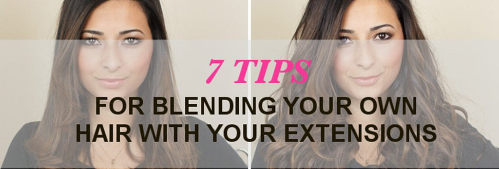 BLENDING BLUNT CUT, SHORT HAIR WITH CLIP-IN EXTENSIONS