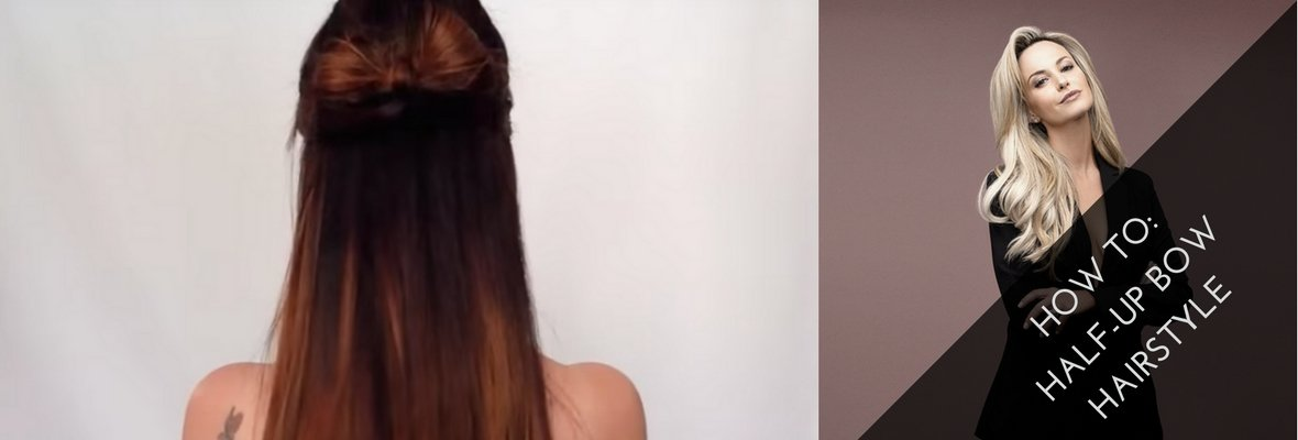 HALF-UP BOW HAIRSTYLE TUTORIAL