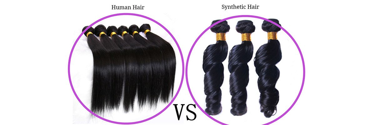 SYNTHETIC HAIR EXTENSIONS VS HUMAN HAIR EXTENSIONS