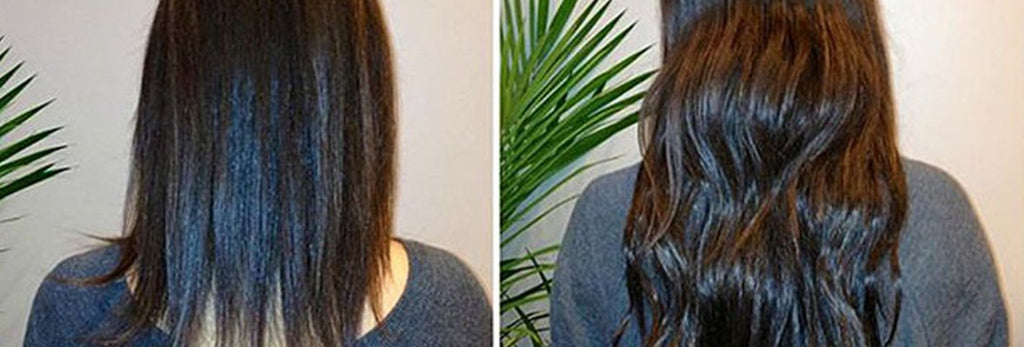 GET LONGER, FULLER HAIR WITH FRONT ROW HAIR EXTENSIONS!