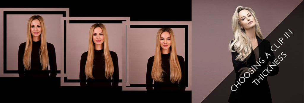 CHOOSING THE CORRECT HAIR EXTENSION THICKNESS