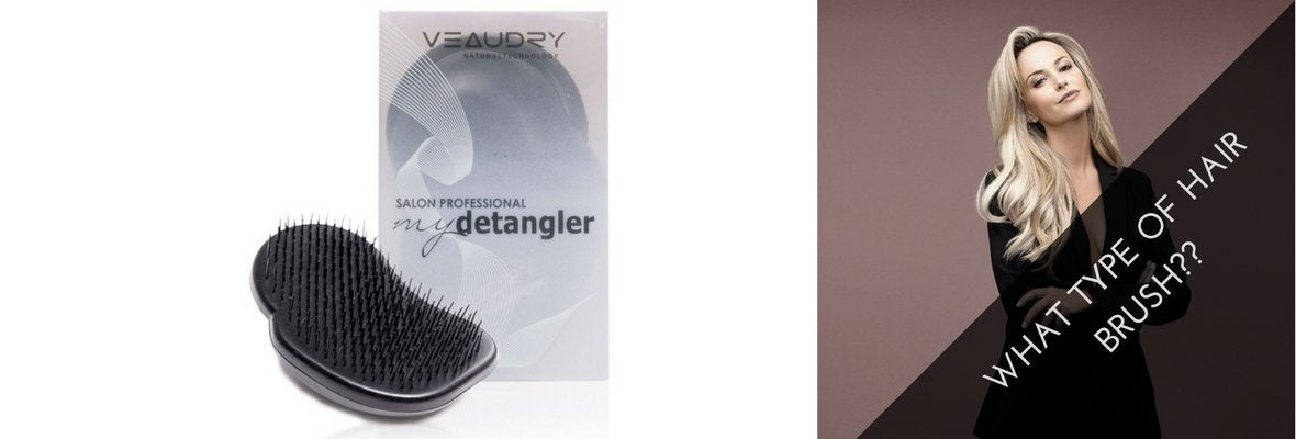 WHAT TYPE OF HAIR BRUSHES SHOULD YOU BE USING?