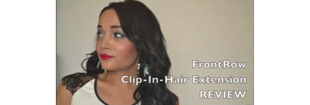 FRONTROW CLIP-IN-HAIR EXTENSION REVIEW
