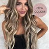 Playful Princess 20inch Cool Highlighted Blonde Clip-in Hair Extensions