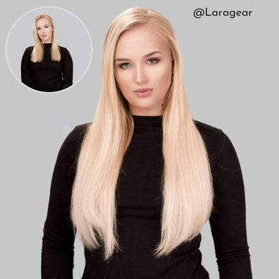 Light Blonde Clip-in Hair Extensions