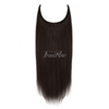 Brown Black Halo Hair Extensions