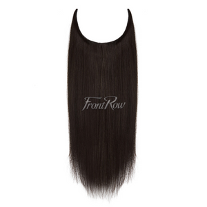 Toast of The Town 18inch Brown Black Halo Hair Extensions