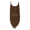 A Little Nuts 18inch Chestnut Brown Halo Hair Extensions