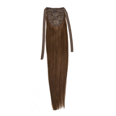 Chestnut Brown 20inch Clip in Ponytail