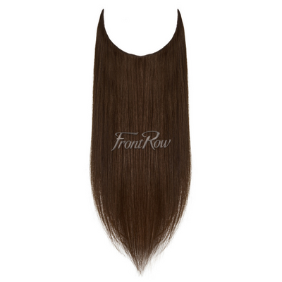 Chocolate Brown Halo Hair Extensions