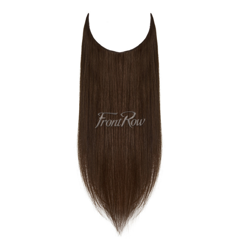 Wham, bam, glam!  18inch Dark Brown Halo Hair Extensions