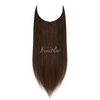 Dark Brown Halo Hair Extensions