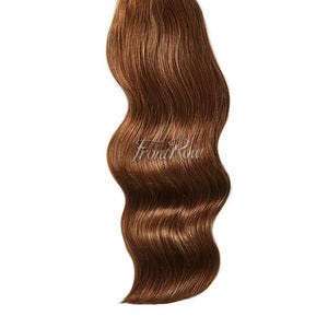 A Little Nuts 20inch Chestnut Brown Clip-in Hair Extensions - FrontRow