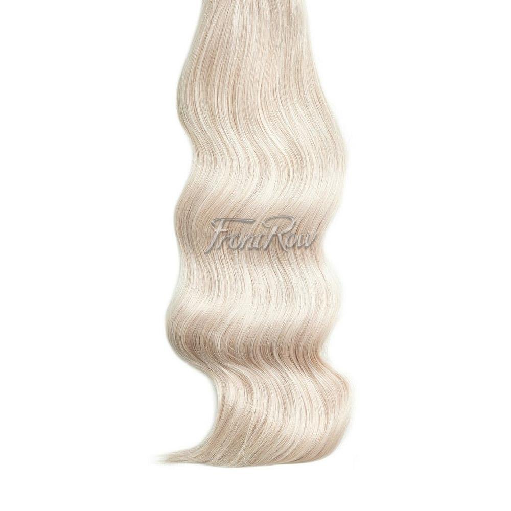 Ice-Ice Lady 20inch Platinum Blonde Clip-in Hair Extensions - FrontRow