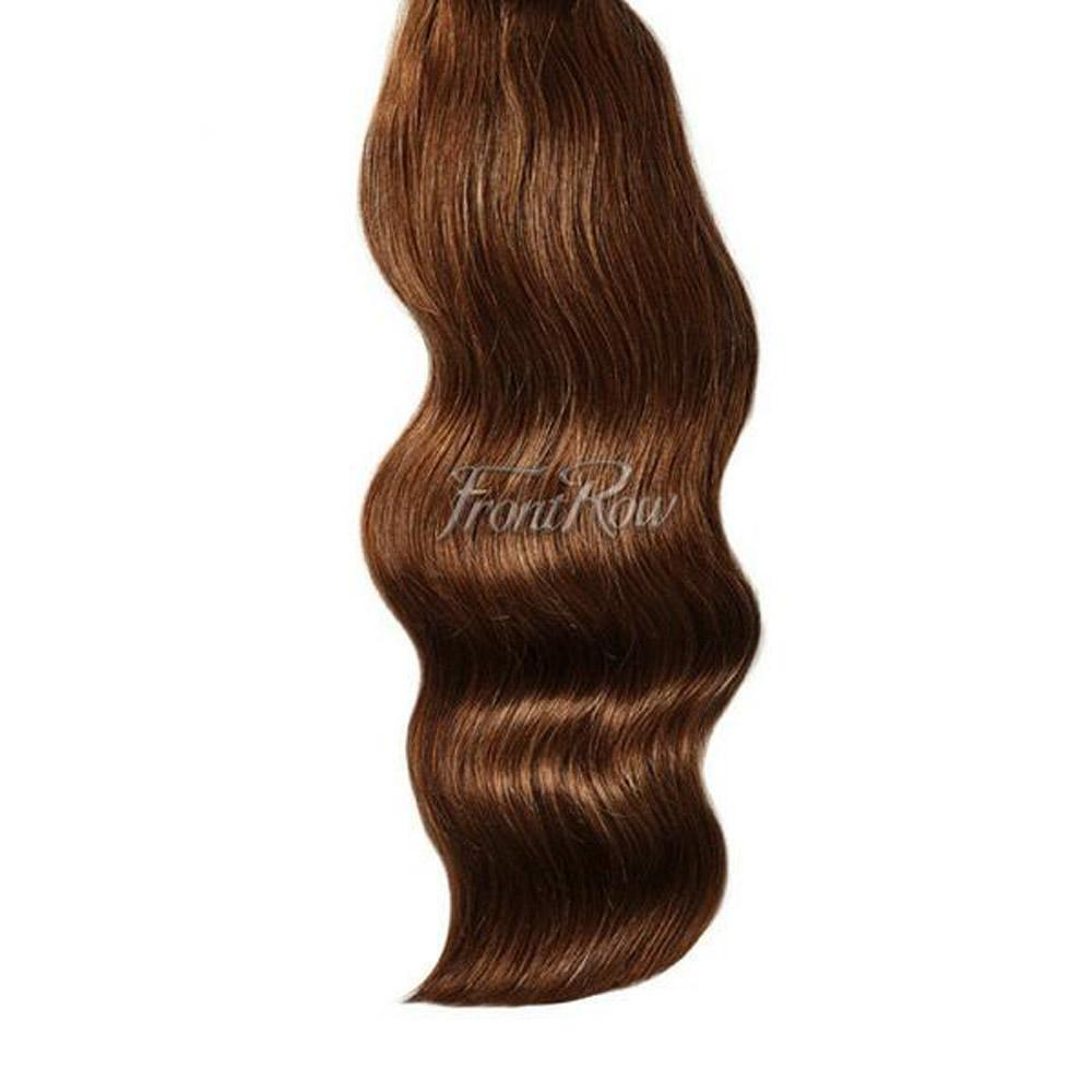Sweet On You 20inch  Chocolate Brown Clip-in Hair Extensions - FrontRow