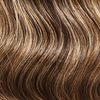 Highlighted Brown Halo Hair Extensions colorname_Highlighted Brown
