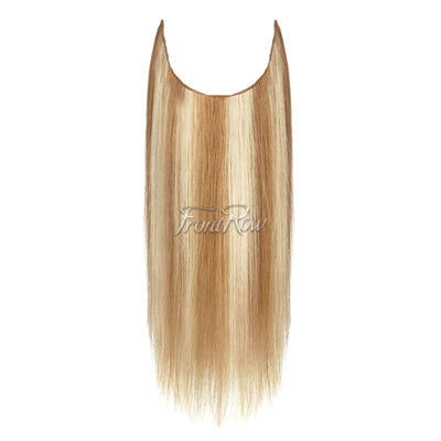 Mixed Blonde Halo Hair Extensions