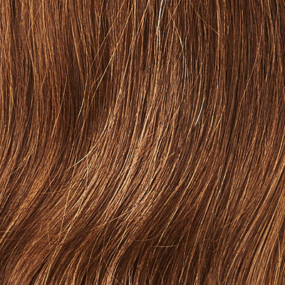 Chocolate Brown Clip-In Bangs colorname_Chocolate Brown