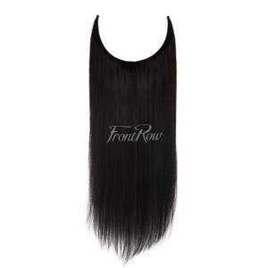 On The Edge 18inch Jet Black Halo Hair Extensions