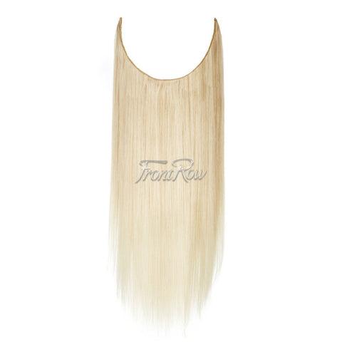 Life of The Party 18inch Light Blonde Halo Hair Extensions