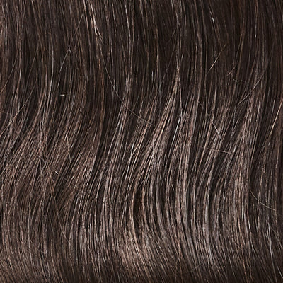 Brown Black Halo Hair Extensions colorname_Brown Black