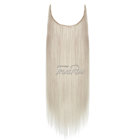 Ice-Ice Lady 18inch Platinum Blonde Halo Hair Extensions