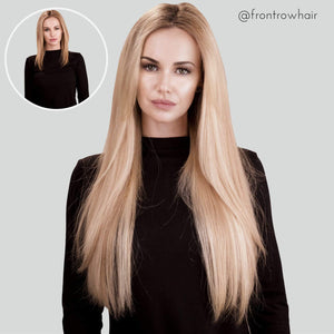 Ready To Mingle 20inch Highlighted Blonde Clip-In 60g Volumizer