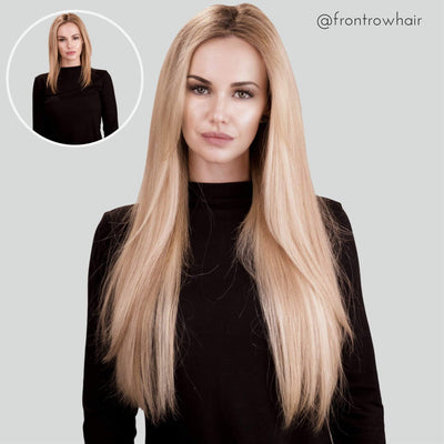 Mixed Blonde Clip-in Hair Extensions