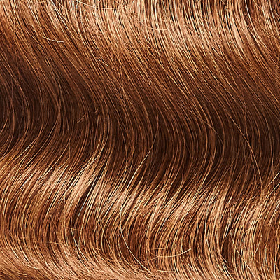 Chestnut Brown Clip-In Bangs colorname_Chestnut Brown