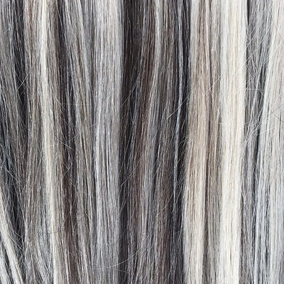 Ash Brown Clip-in Hair Extensions colorname_Ash Brown