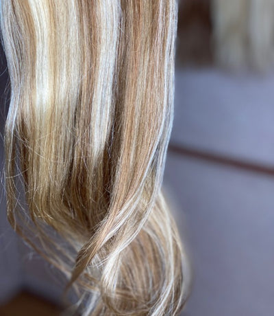 Mixed Toffee Blonde Clip-In Hair Extensions
