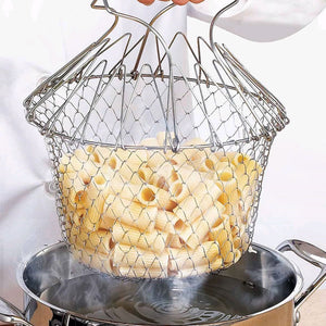 Foldable Stainless Steel Colander
