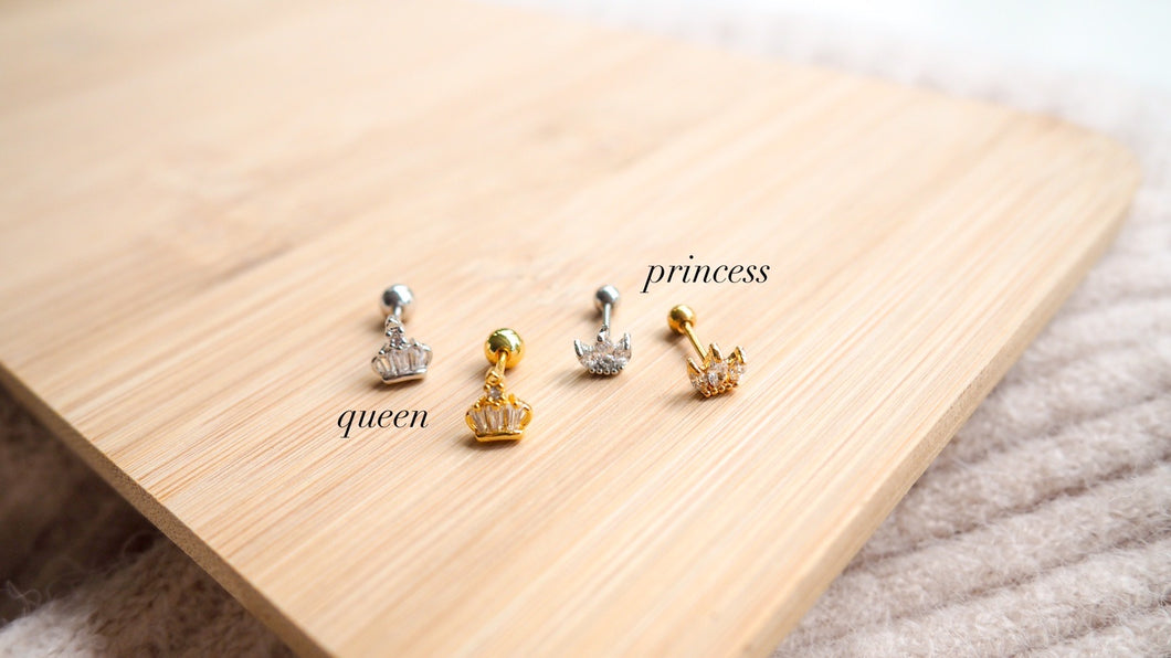 Screw Studs - Queen, Princess
