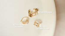 Load image into Gallery viewer, Kristin Triple Hoop Earcuff
