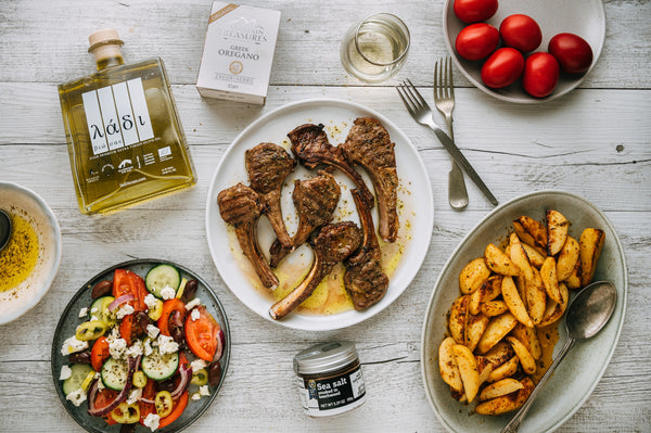 Greek Style Lamb Cutlets by Peter Georgakopoulos from Souvlaki for the Soul