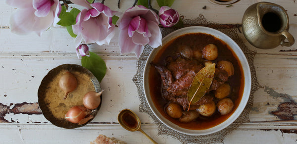 Rabbit stew recipe from Ioannina, Epirus - by Kali orexi