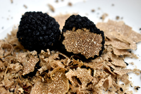 Health benefits of truffles. Black, white truffles from Europe and Greece in Australia by Grecian Purveyor. Best black and white truffle slices, truffle salt, truffle oil and salsa tartufata in Sydney, Melbourne, Adelaide, Canberra, Perth and Brisbane