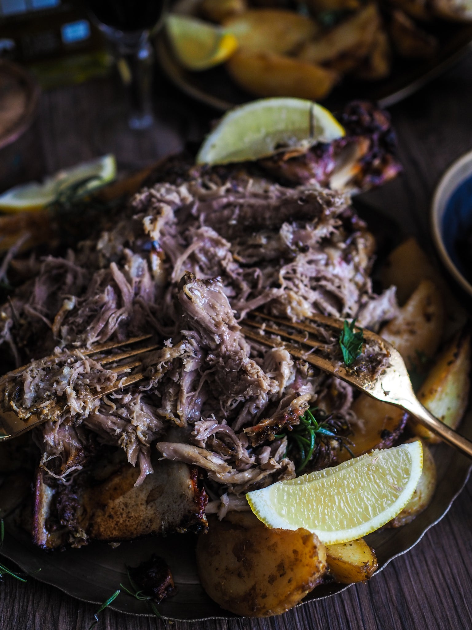 Slow lamb roast recipe for Greek Easter with high quality cooking ingredients by Grecian Purveyor. Australia's gourmet grocer. Recipe by Lorraine Elliott from NOT QUITE NIGELLA