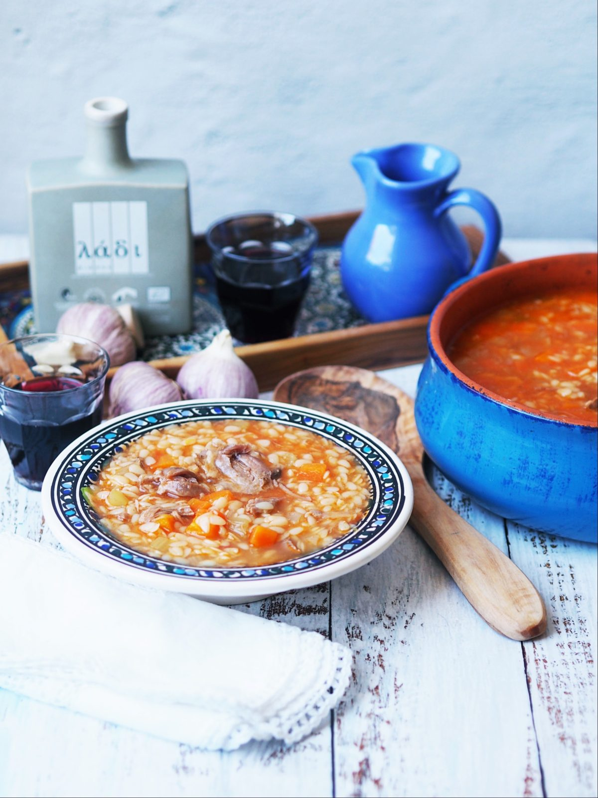 Manestra soup recipe with the best gourmet grocery shopping online in Australia. Best olive oil an and gourmet salts.