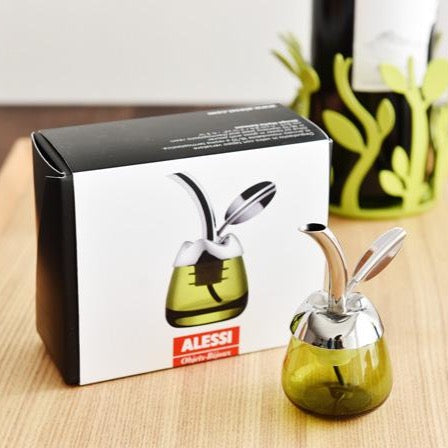 Alessi - Fior D'Olio Olive Oil Taster with Pourer - Grecian Purveyor, gourmet grocer. Premium gourmet foods, quality products and gourmet hampers and gifts for delivery in Australia, Sydney, Melbourne, Adelaide, Brisbane, Perth and Canberra.