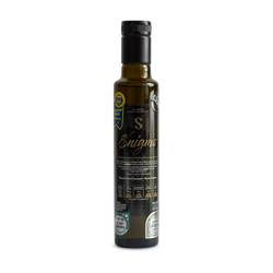 Enigma Superior Flavoured Organic Extra Virgin Olive Oil - Unfiltered gourmet flavoured olive oil by an artisan.A superior gourmet extra virgin olive oil flavoured with walnuts,apples,cinnamon,honey,sage & lemon