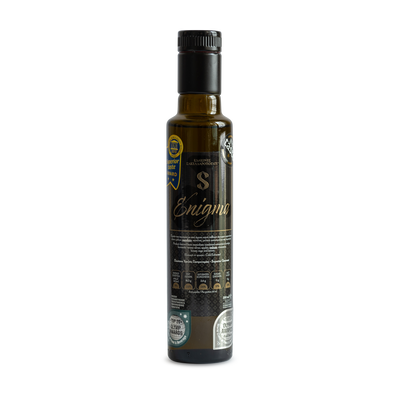 Superior Flavoured Organic Extra Virgin Olive Oil - Enigma, walnut, apple and cinnamon